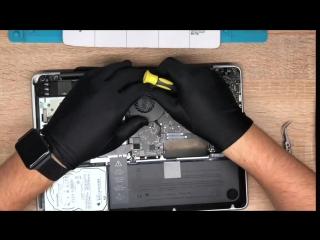 Чистка от пыли и замена термопасты Macbook