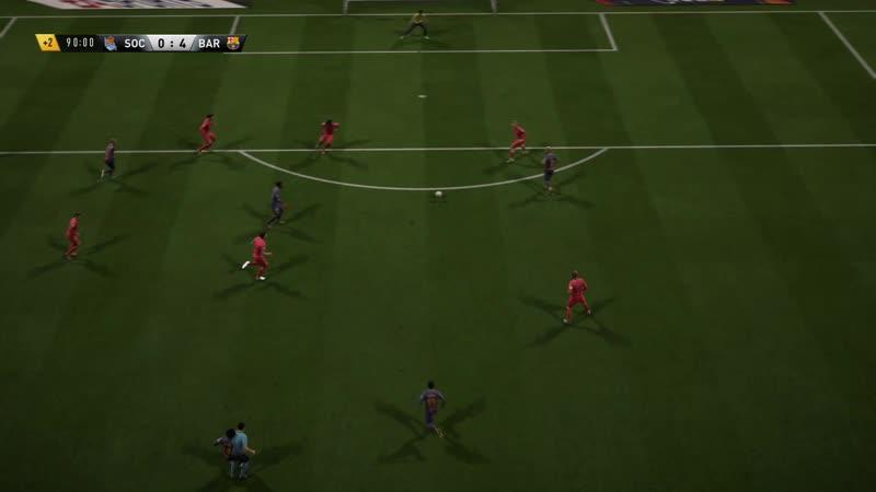 FIFA 18 sombrero flick scissor kick goal