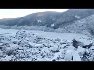 В Хабаровском крае упавший метеорит перекрыл Бурею, декабрь 2018