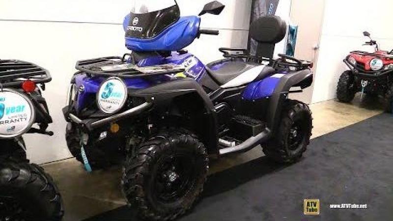 2018 Cfmoto C-force 500 Recreational ATV - Walkaround - 2017 Toronto Snowmobile ATV Show