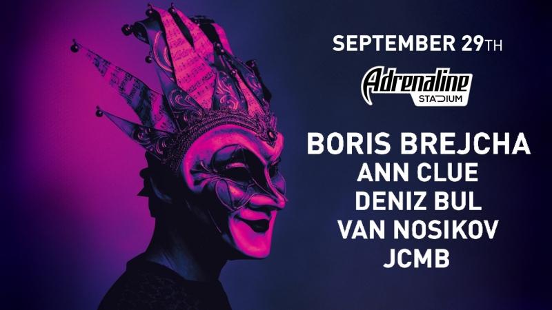 29.09 :: Boris Brejcha / Epizode³ Pre-Party @ Adrenaline Stadium