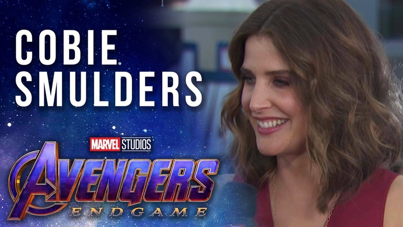 Cobie Smulders Talks About Maria Hills Connecting Role LIVE at the Avengers Endgame Premiere