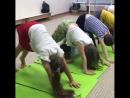 детское занятие Спина стопа , фитнес-центр VALENTIN