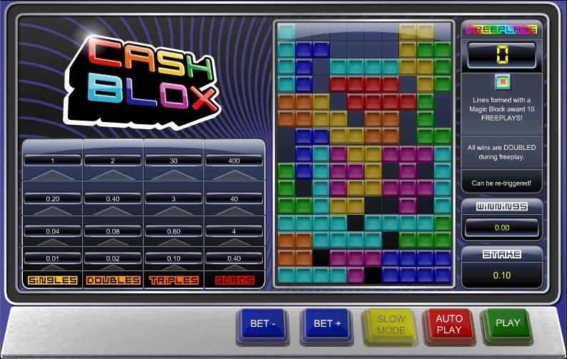 Игровые автоматы Cash Blox