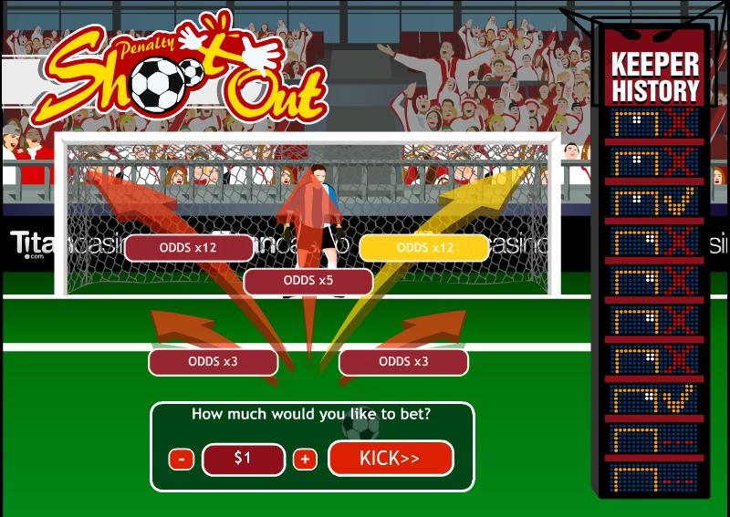 Игровые автоматы Penalty Shoot Out
