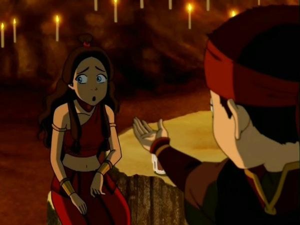 Аанг и Катара Она принцесса