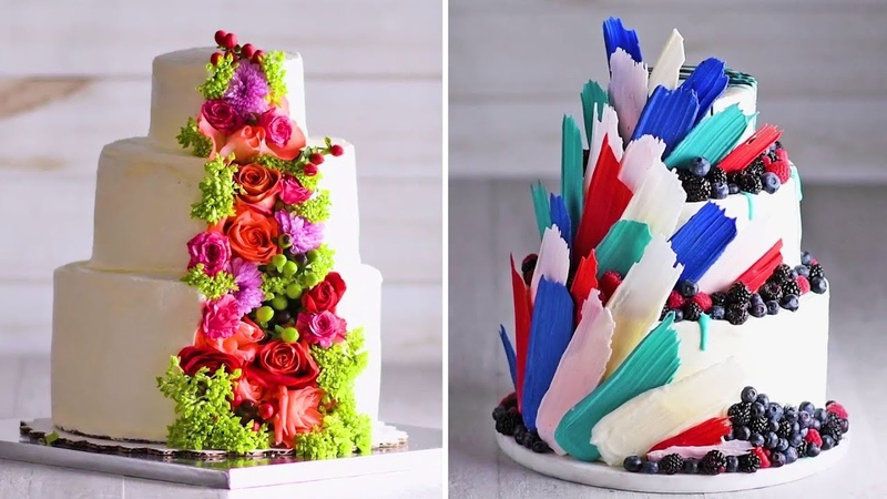 A wedding Cake thats fit for a PRINCESS | Cake Hacks | Homemade Royal Wedding Cake Ideas | So Yummy