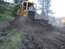 John Deere 850 Dozer With 3 Shank Ripper - Cuts in a New Road