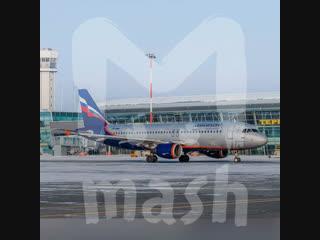 В Казани из-за замерзших деталей двигателя не смог взлететь самолёт