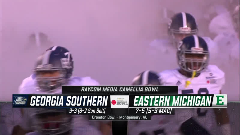 NCAAF 2018 / Camellia Bowl / Georgia Southern Eagles - Eastern Michigan Eagles / 2H / EN