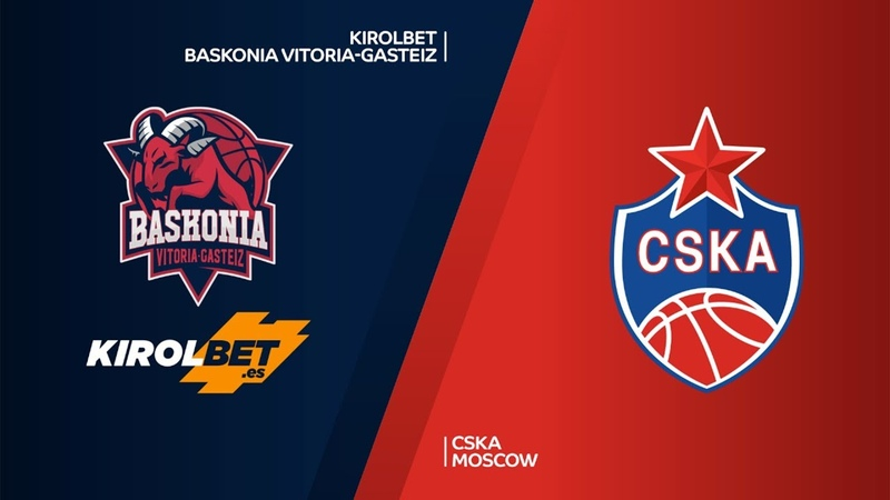 KIROLBET Baskonia Vitoria-Gasteiz - CSKA Moscow Highlights | Turkish Airlines EuroLeague RS Round 11. Евролига. Обзор. Баскония - ЦСКА