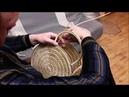 Плету сумку часть 4 ручки и ножки