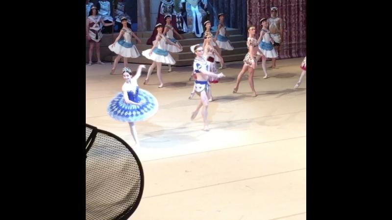 "Video - 34, 19.07.2018 ""La Fille du Pharaon"" Svetlana Zakharova and Denis Rodkin, BolshoiTheatre 🎭"