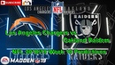 Los Angeles Chargers vs. Oakland Raiders | NFL 2018-19 Week 10 | Predictions Madden NFL 19