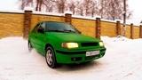 Новогодний дрейф на дачном участке  Skoda Felicia Driving