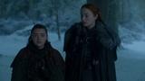 Game of Thrones 7x04 - Arya reunites with Sansa and Bran