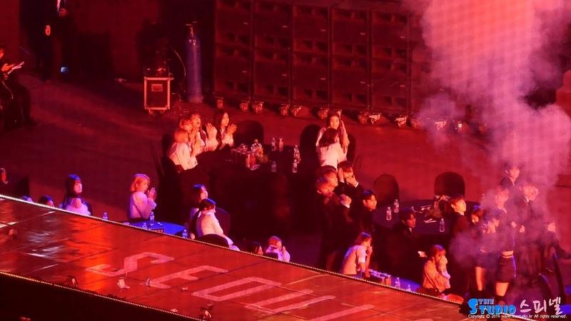 190115 폭죽에 놀란 트와이스 아이즈원 워너원 여자친구 방탄소년단 BTS FAKE LOVE 리액션 Re
