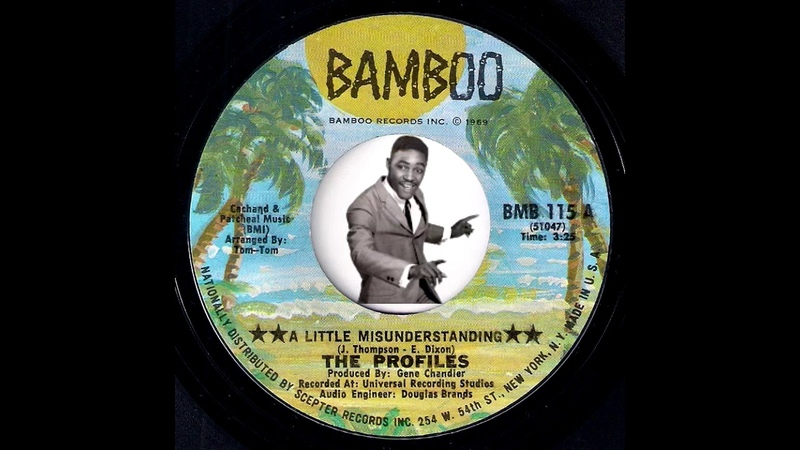 The Profiles - A Little Misunderstanding [Bamboo] 1969 Northern Soul X-over 45