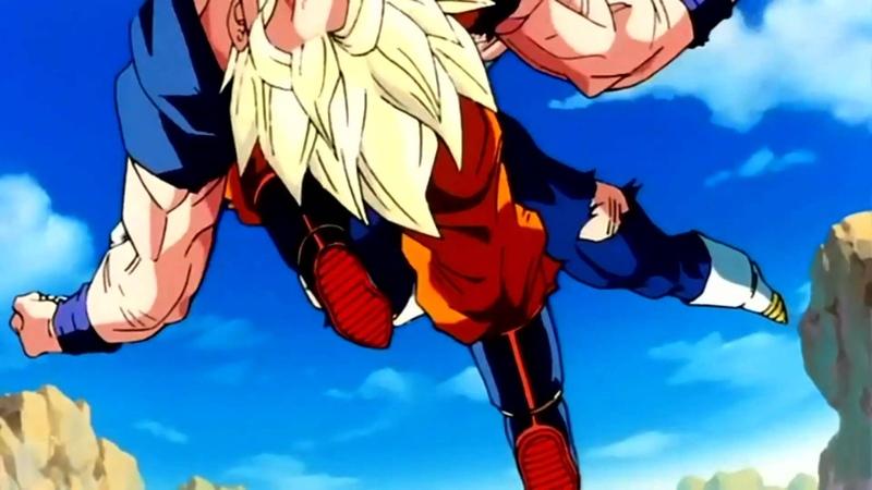 Dragonball Z, - SSJ2 Goku vs Majin Vegeta (ULTIMATE FIGHT SCENE) (FULL1080p)