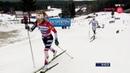 Лыжные гонки - Гонка преследования на 10 км классикой - победа Терезы Йохауг - Лиллехаммер 2018