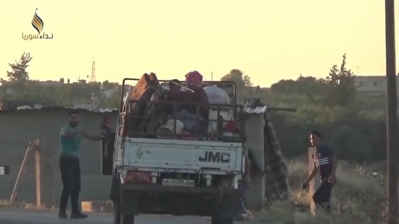 19 июля 2018. Военная обстановка в Сирии. Россия открыла в Сирии центр по приему беженцев.