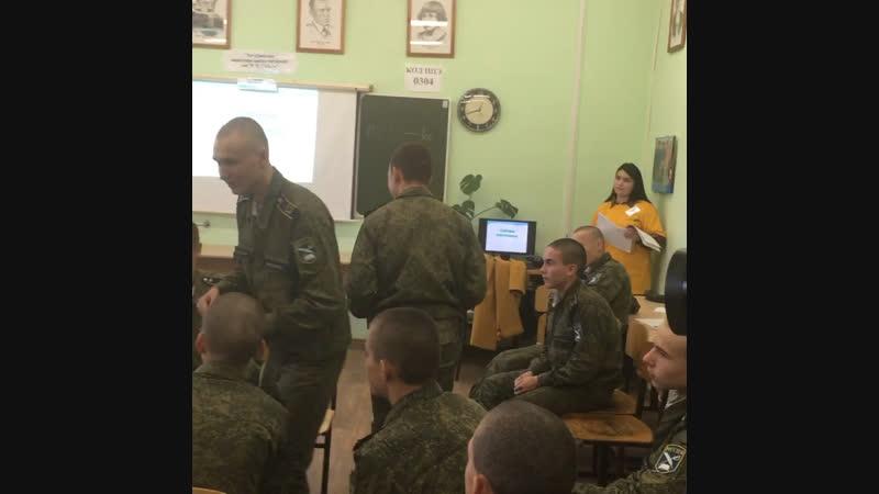 Слёт кадетов. 19 октября 2018.