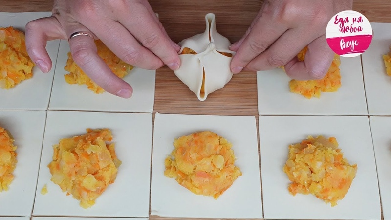 Всего несколько ингредиентов и Картофельники к обеду готовы!