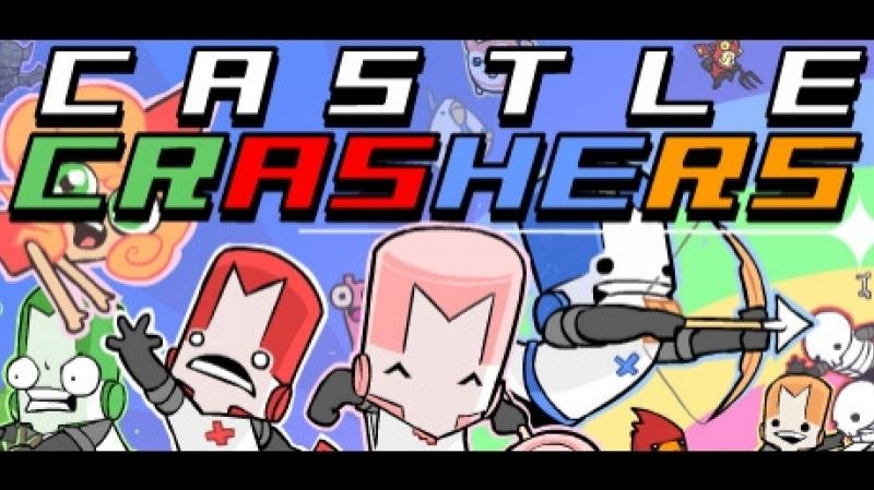 Castle crashers. Запоздалый стримец