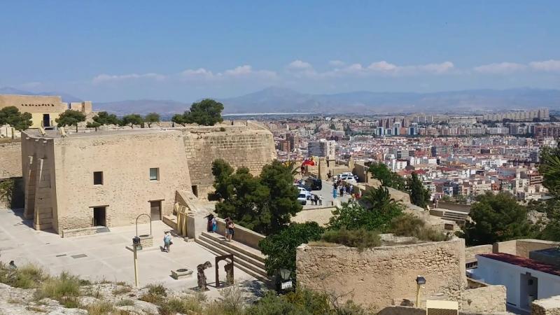 Верх крепости Санта-Барбара, Аликанте