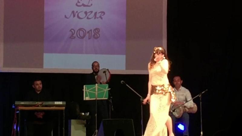 Екатерина Ржанникова. Raks el Nour 2018. Baladi Band. baladi taksim