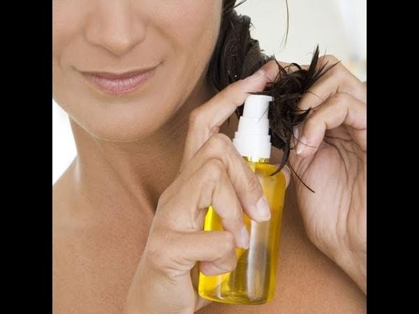 Cómo hacer aceite para el cabello en casa