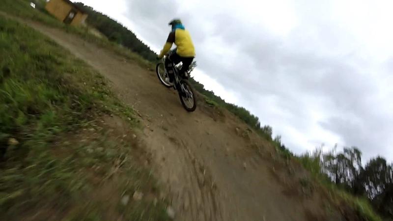 Mountain bike трасса в Протвино