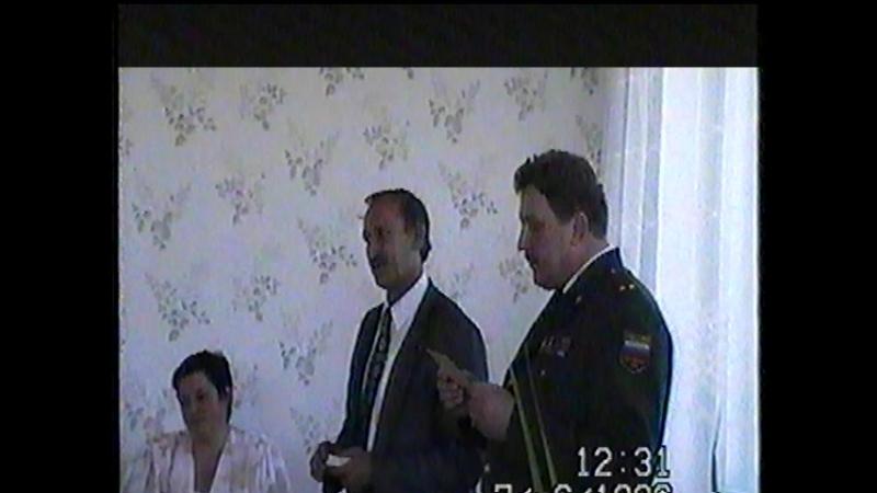 1996 год, Награждение медалью Жукова ветеранов ВОВ