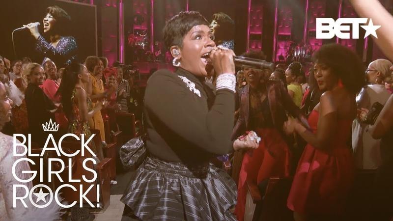 Fantasia Tributes Aretha Franklin Respect | Black Girls Rock 2018