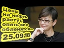 Ирина Хакамада Цены на нефть растут опять все обленятся 25 09 18