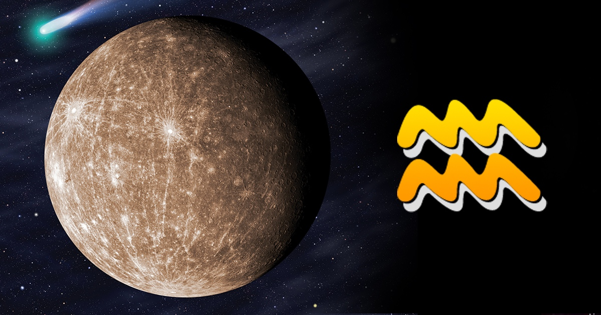 Меркурий в Водолее с 24.01.2019 по 10.02.2019