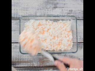 zerofat - запеканка с курицей и рисом