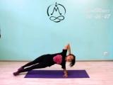 Тренировка ABS + растяжка в спортивной студии йоги SportMaier, г.Тверь 2018