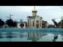 Дождь переполнил фонтан в Межводном