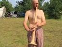 Илья Ахрамеев о Владимирском рожке (пастушья труба)