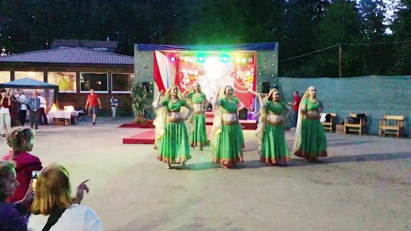 Индийский танец в стиле Болливуд Joban Hai Shawaa