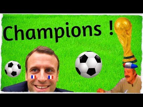 La France Championne du Monde ! De la connerie... RDP 150718