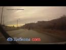 Мурманск. Столб упал в результате аварии