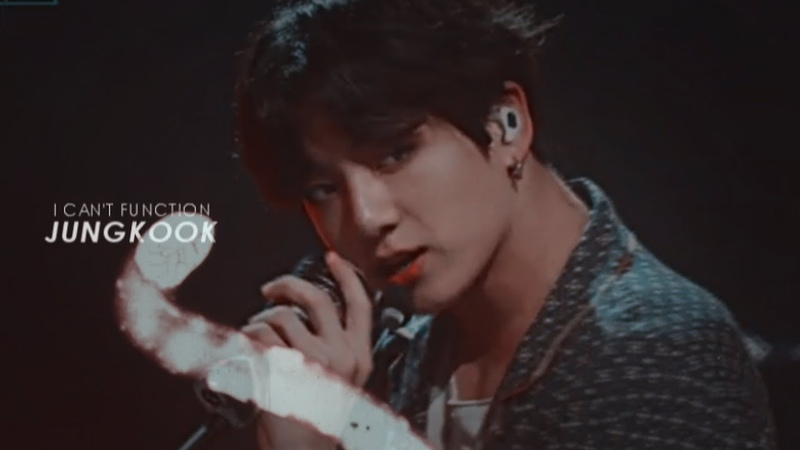 Jungkook || i cant' function