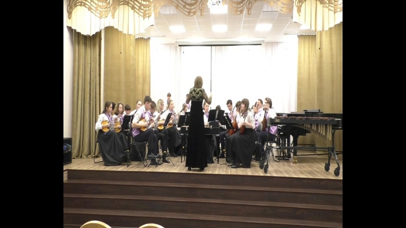 ДМШ №24, Междуреченск, оркестр русских народных инструментов