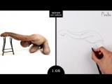 Proko Figure drawing fundamentals - 01 Gesture - Gesture Quicksketch - 2 Minute Pose (13)