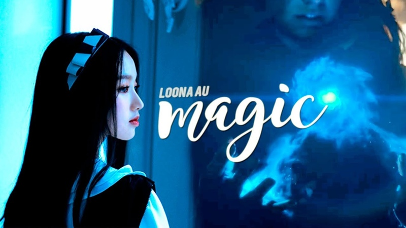 Loona ※ magic!au