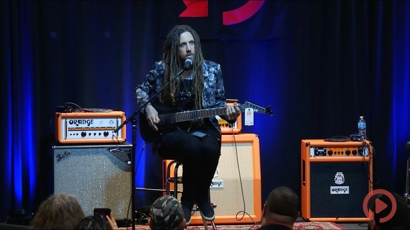 Brian Head Welch of Korn at Replay Guitar Exchange