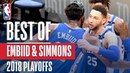 Joel Embiid & Ben Simmons Best Plays | 2018 NBA Playoffs #NBANews #NBA #NBAPlayoffs #76ers #JoelEmbiid #BenSimmons