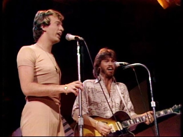 Bee Gees - Nights On Broadway 1975 (High Quality, Midnight Special)